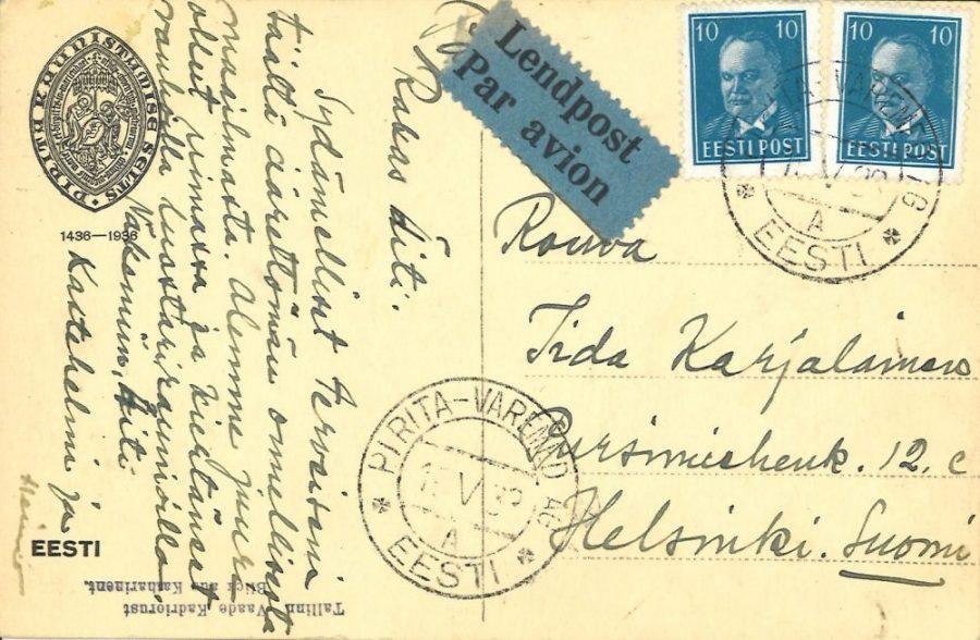Matkalla Virossa 1938