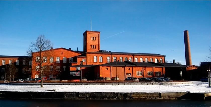 Kävely Forssan vanhalla tekstiiliteollisuusalueella